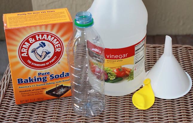 Как сделать лед из уксуса и соды