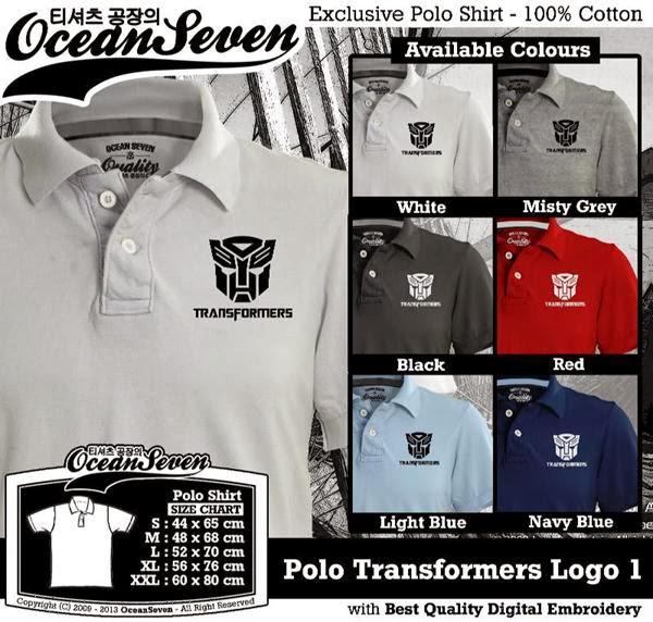 POLO Transformers Logo distro ocean seven