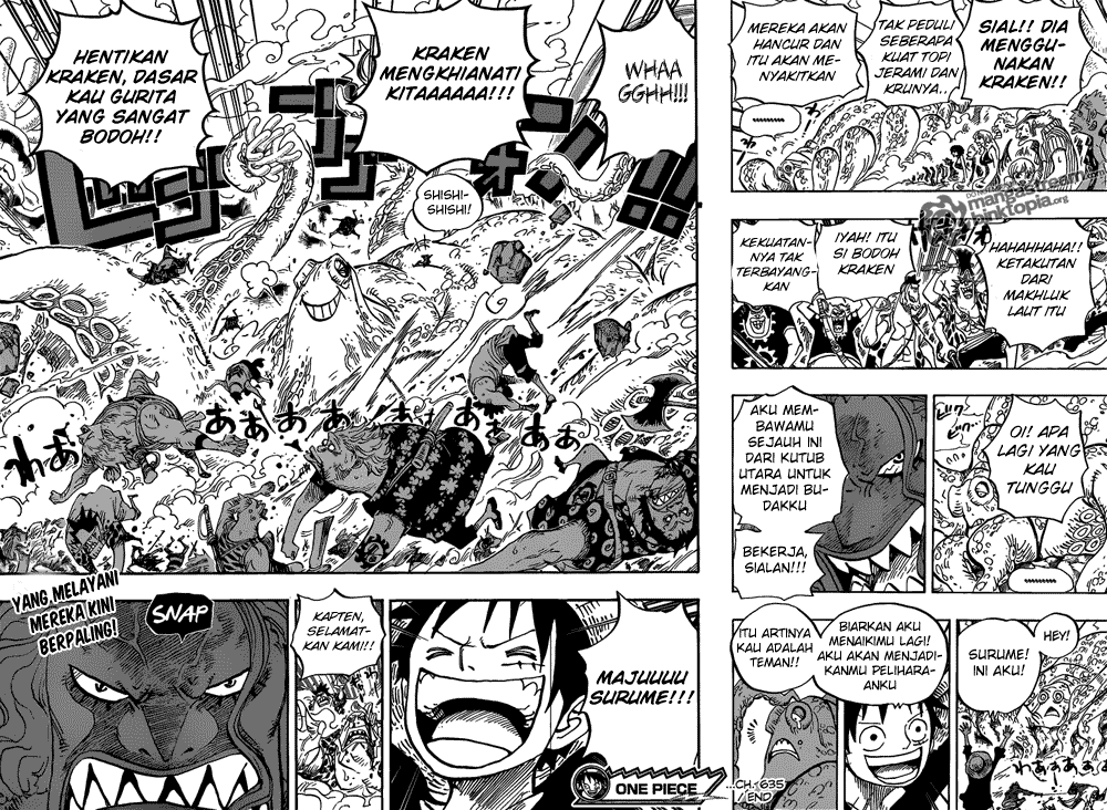 Baca Manga, Baca Komik, One Piece Chapter 635, One Piece 635 Bahasa Indonesia, One Piece 635 Online