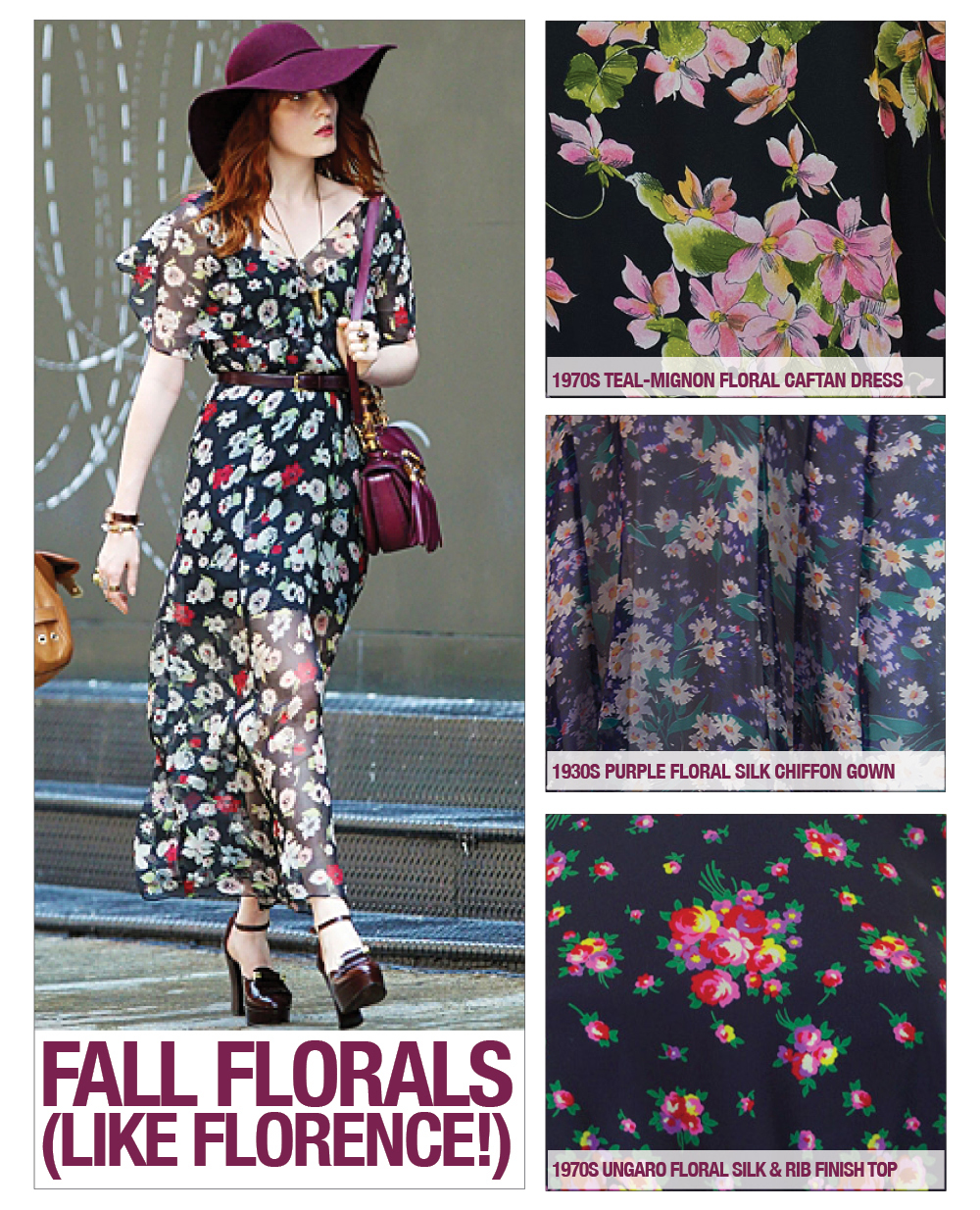 Do a Floral for Fall