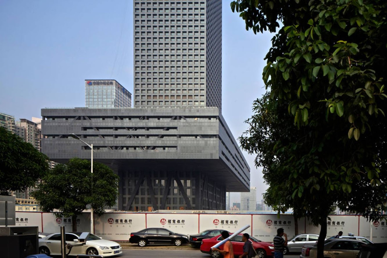 Shenzhen Stock Exchange Building by Oma