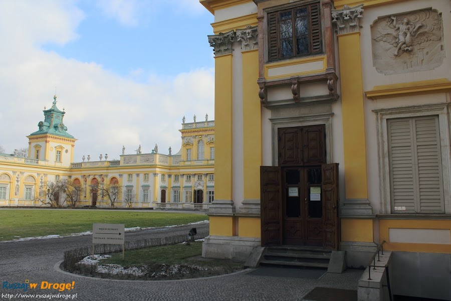Warszawa Pałac w Wilanowie
