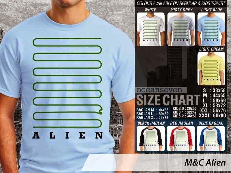 Kaos Movie Alien Film Cinema distro ocean seven
