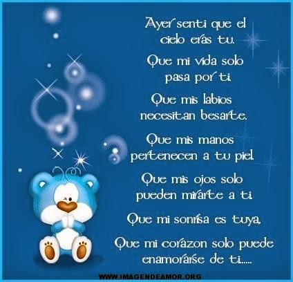 Poemas y Frases en Imágenes Facebook