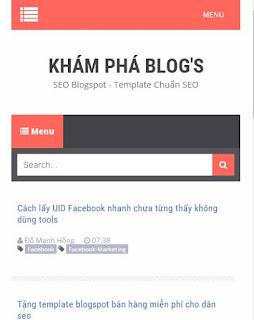 Tại sao cần phải thiết kế giao diện mobi cho blogspot