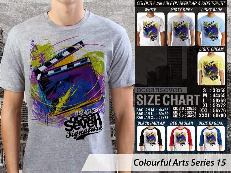 KAOS keren Colourful Arts Series 15 movie cinema | KAOS Colourful Arts Series 15 distro ocean seven