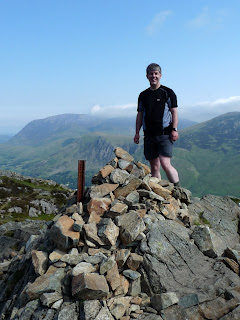 Me on top of Haystaks Summit.