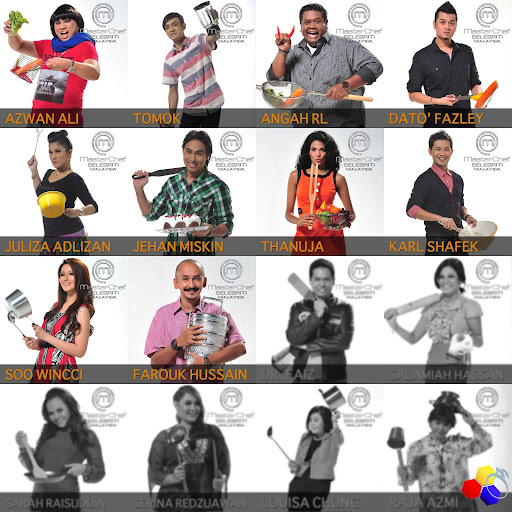 mknace unlimited™ | Masterchef Selebriti Malaysia