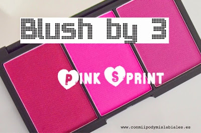 "Blush By 3 ""Pink Sprint"" - Sleek Makeup"