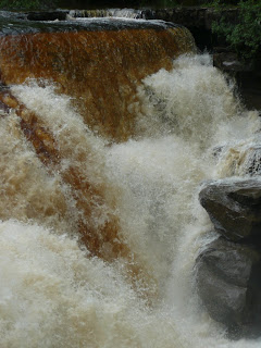 Close up of Lower Kisdon Force Falls