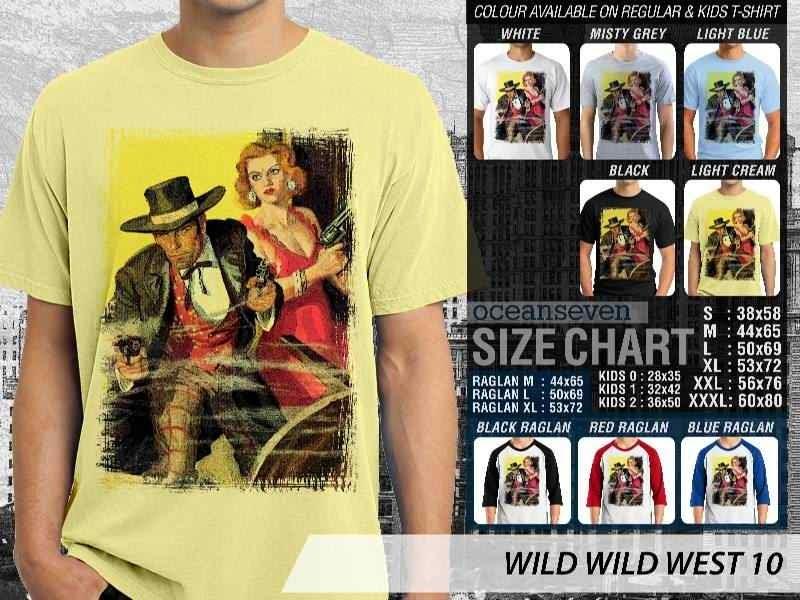 Kaos Cowboy Americana 10 Wild West distro ocean seven