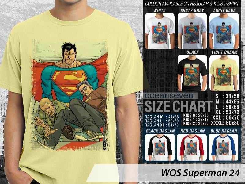 KAOS superman 24 Movie Series distro ocean seven