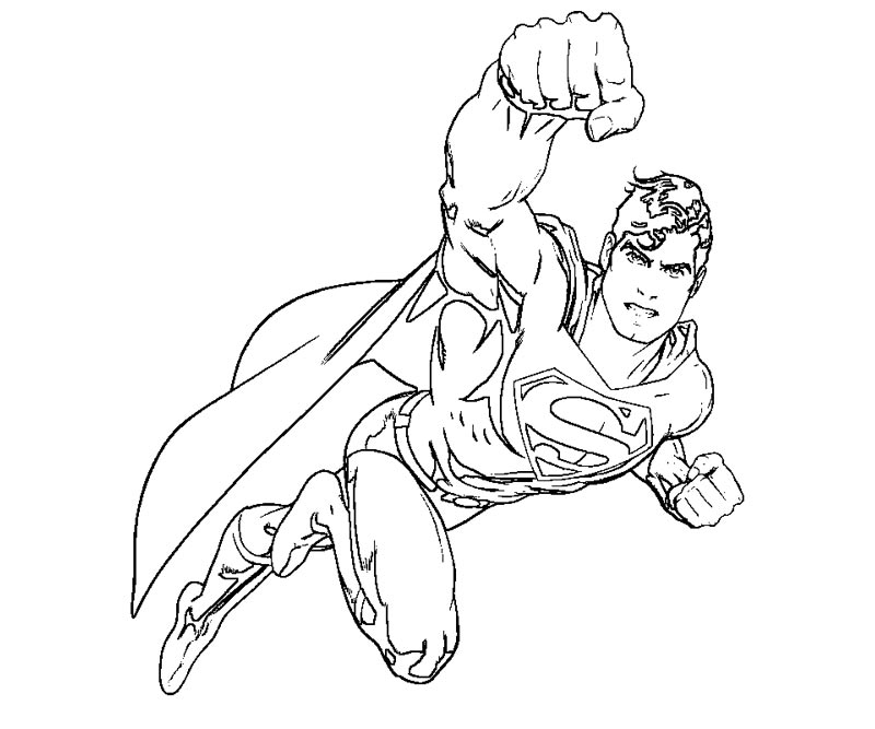 superman printable coloring pages - Superman coloring pages Free Coloring Pages