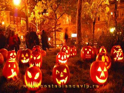 Хэллоуин, Día de Todos los Santos, Día de Muertos, Halloween, Noche de Brujas, Noche de Difuntos, Дня всех святых, Ведьмина ночь, праздники в Испании, Gandia, Costa Blanca, l'Alqueria del Terror, Jack-o'-lantern, truco o trato,  недвижимость в Испании,  CostablancaVIP