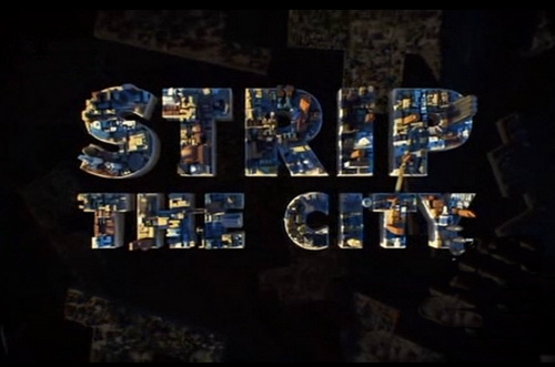 Miasto Pod Lup± / Strip The City (2012) PL.TVRip.XviD / Lektor PL