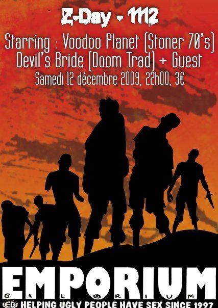 Devil's Bride / Children of Doom / Voodoo @ Emporium Galorium, Rouen 12/12/2009
