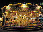 A very pretty Carousel in the West End that we saw after seeing Chicago