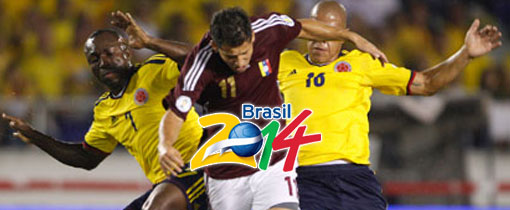 Venezuela vs. Colombia en Vivo - Eliminatorias 2014