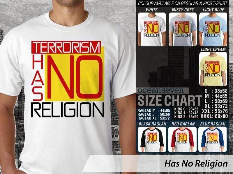 KAOS Muslim Islam Has No Religion distro ocean seven