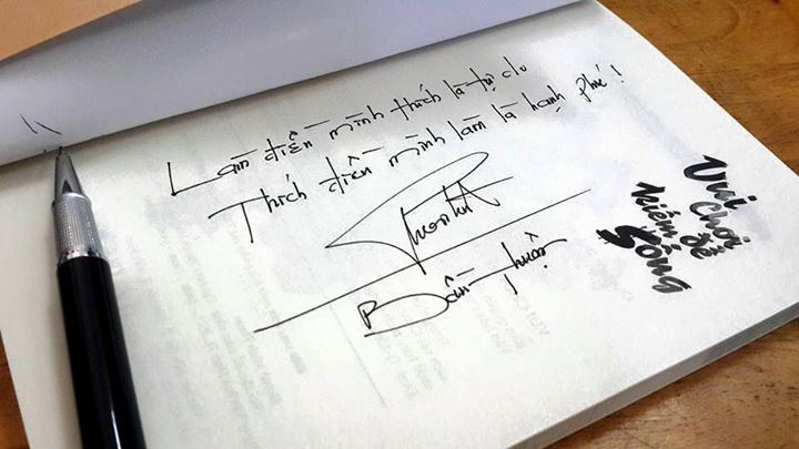 Đoán tính cách một người qua cách họ ký tên