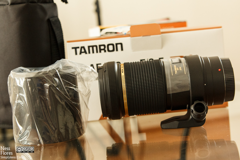 Tamron AF 180mm f/3.5 Di SP A/M FEC LD (IF) 1:1 Macro Lens For Canon
