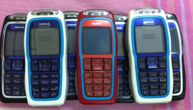 Các màu sắc Nokia 3320