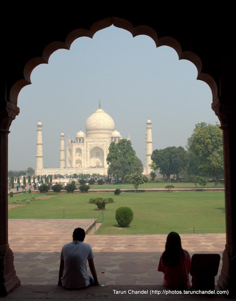 Love Taj Mahal Agra, Tarun Chandel Photoblog