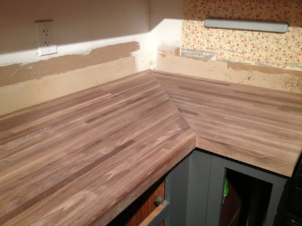 wax on butcher block countertop treatment the ugly