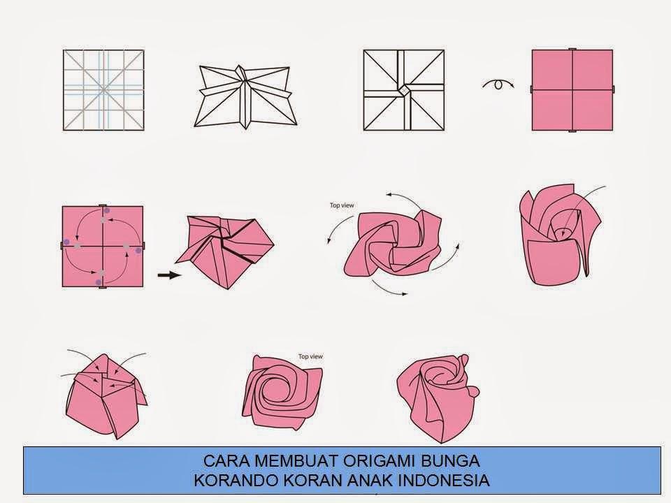 Цветы из оригами как сделать