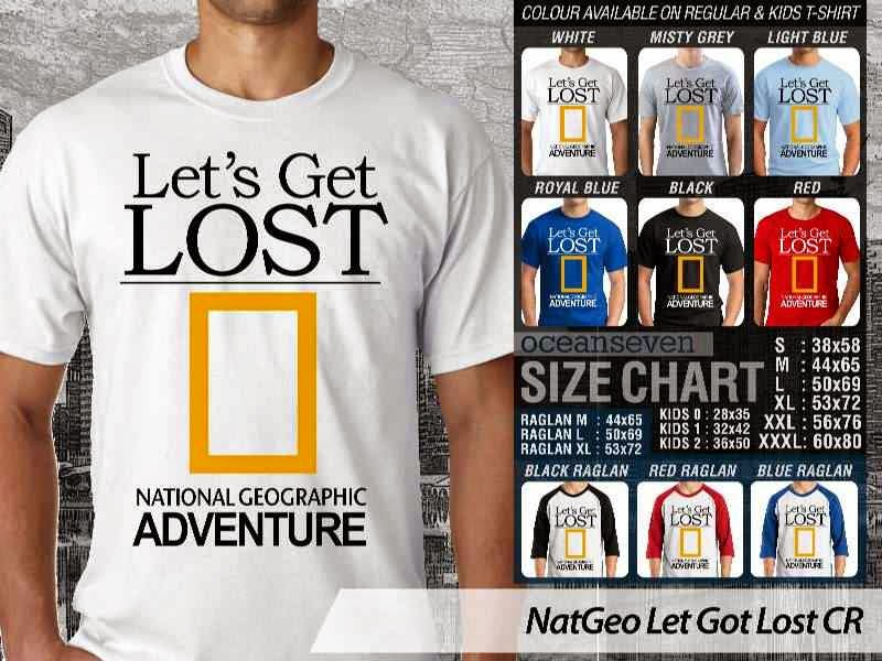 Kaos National Geographic Lets Got Lost distro ocean seven