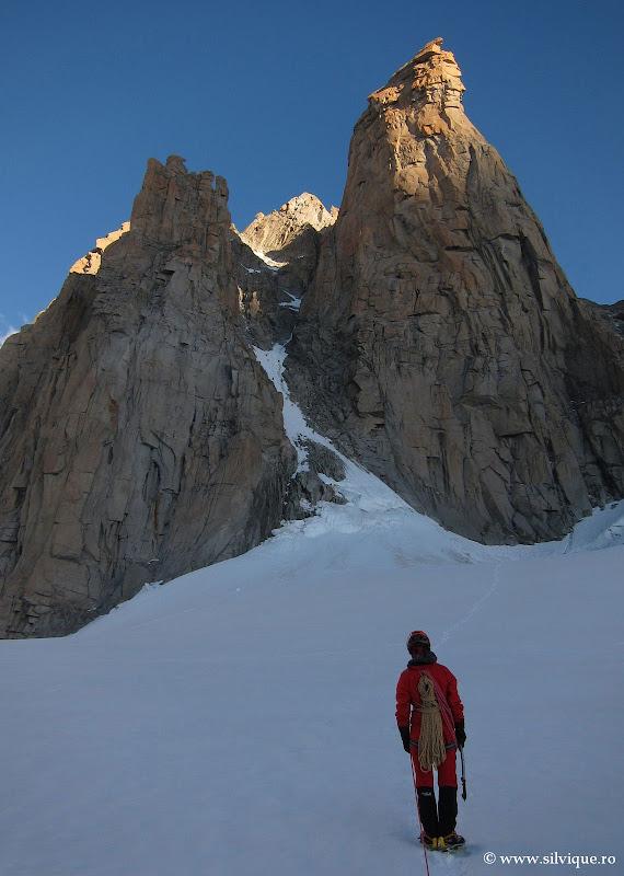 Grand Capucin (Swiss route)