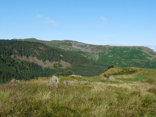 High Seat and Bleaberry Fell from Wren Crag.