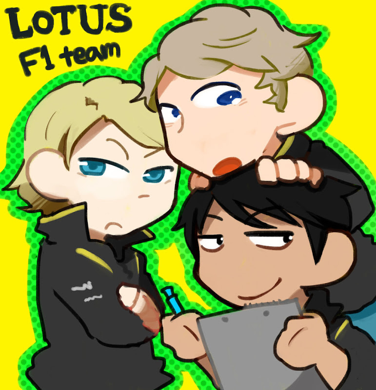 Lotus F1 Team 2013 by akatokaeru
