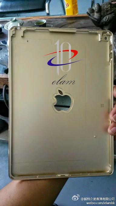 Inside iPad Air 2 rear shell