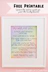 My Wish: Free Printable