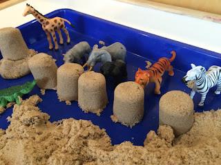 Lợi ích của đồ chơi cát Kinetic Sand