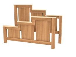 Waterfall Bed Frame