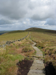 Long way back to Cats Tor now!