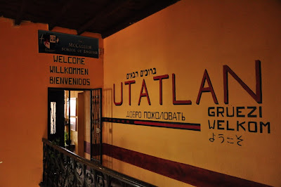 Another home away from home away from home, Utatlan Language School.  If I am here any longer I may learn all the languages on the wall.