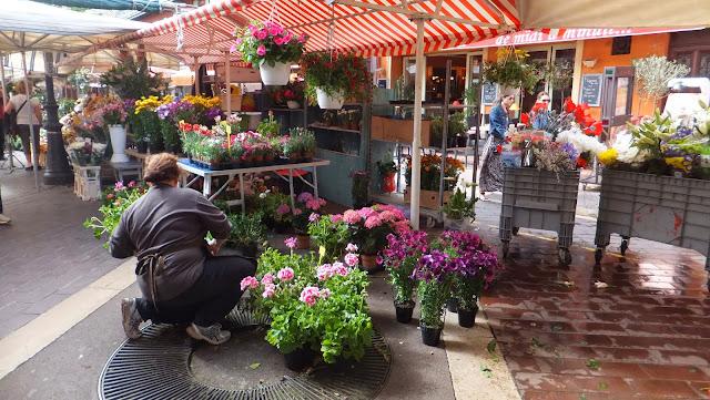 Mercado de Flores en Niza