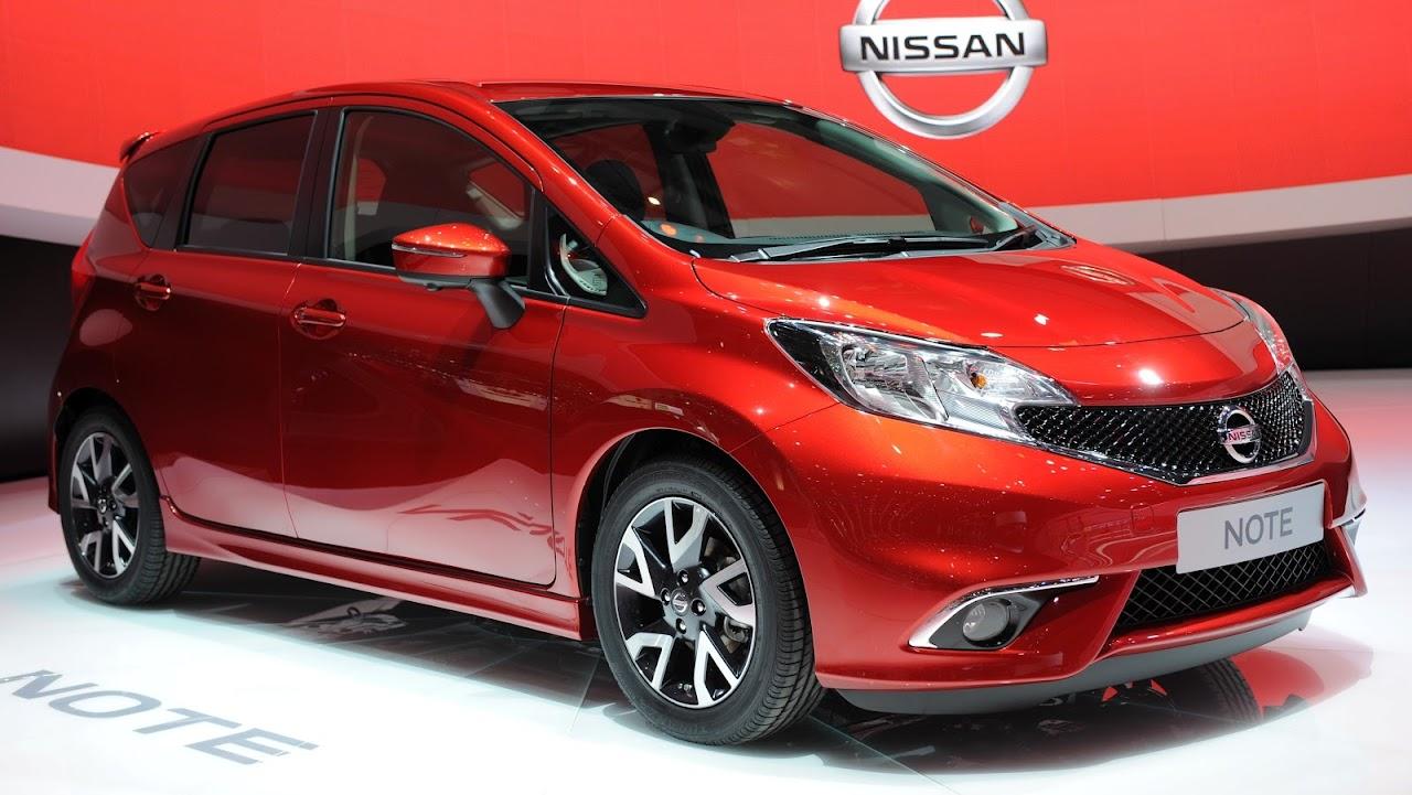 2014 Nissan Note Cenevre Otomobil Fuarı'nda