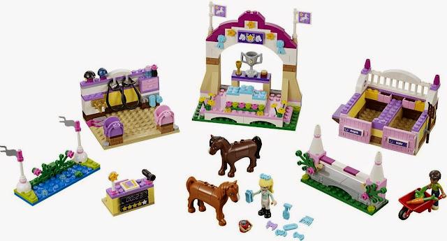 do choi xep hinh lego friends 41057 friends heartlake horse show 2 Các mặt hàng đồ chơi thông dụng tại chuỗi cửa hàng đồ chơi My Kingdom