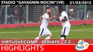VirtusVecomp - Aurora Seriate - Highlights del 21-03-2015