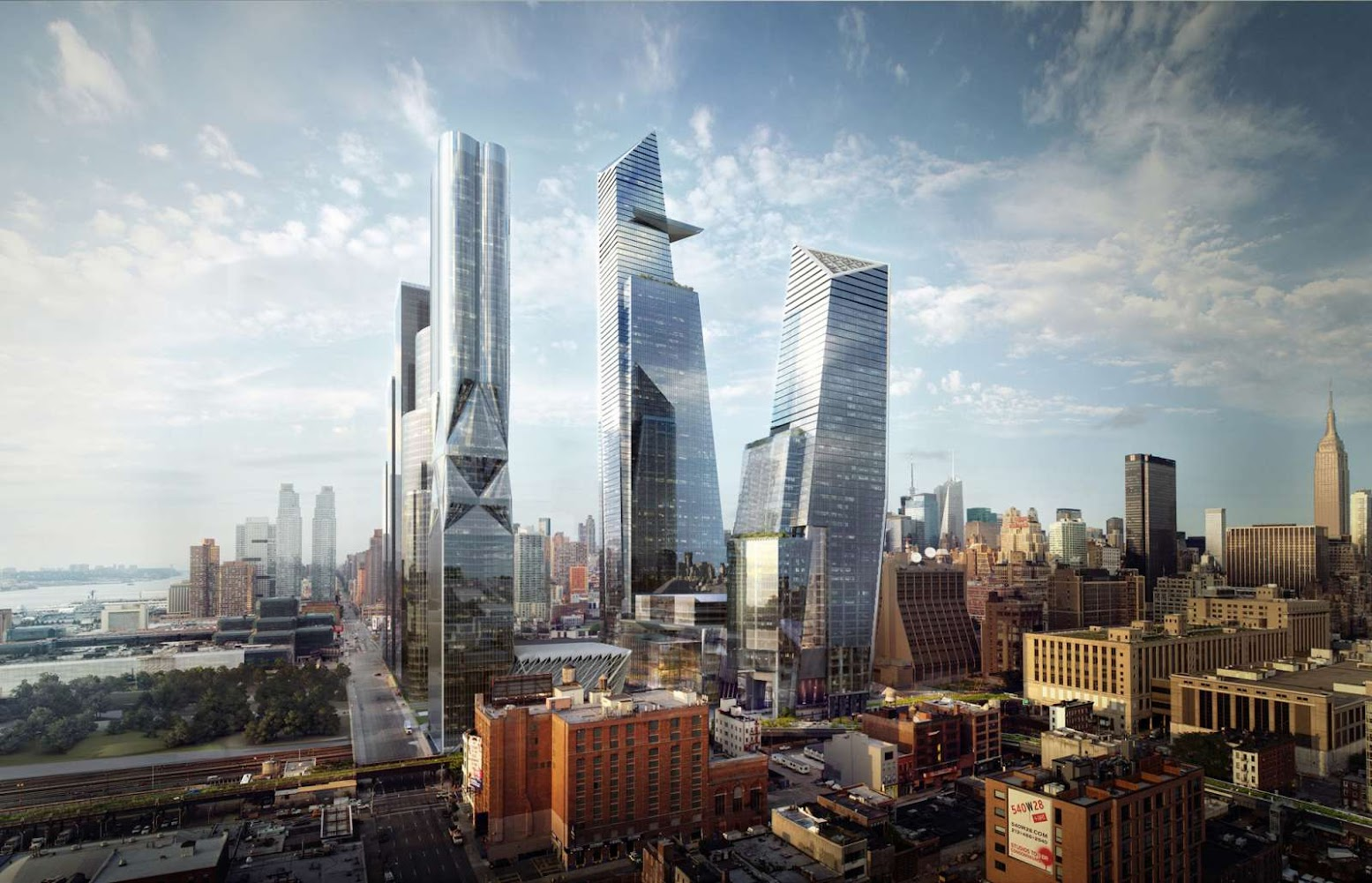 Manhattan West, New York, 10001, Stati Uniti: [HUDSON YARDS PROJECT BREAKS GROUND]