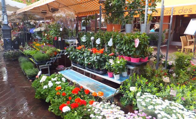 Cours Saleya en Niza