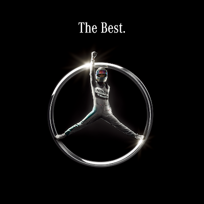 Льюис Хэмилтон в форме значка Mercedes - The Best 2014