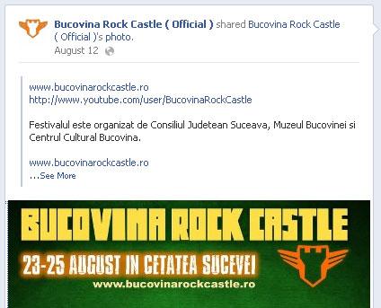 Bucovina Rock Castle