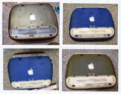 Discolor of iBook Clamshell