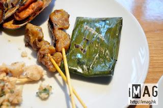 馬來沙爹串燒及荷葉魚