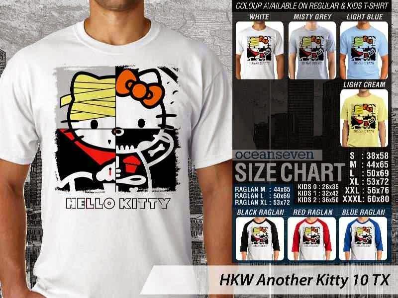 Kaos kartun lucu Another Hello Kitty 10 distro ocean seven